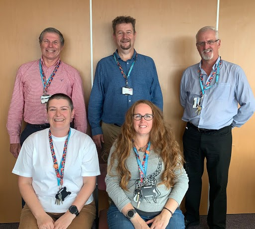 The Pastoral team at Leeds Sixth Form College.